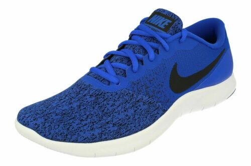 Nike Flex contact Baskets de running New Man's Chaussures Racer bleu noir blanc