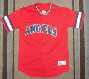b597b5521 Los Angeles Angels Vladimir Guerro  27 Baseball Jersey - Red   Black ...