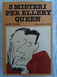 Omnibus-Gialli-5-Misteri-per-Ellery-Queen-Mondadori-1a-edizione