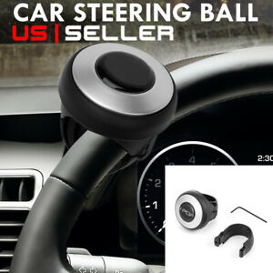 Auto Car Power Steering Wheel Ball//Suicide//Auxiliary Knob Booster Spinner Handle