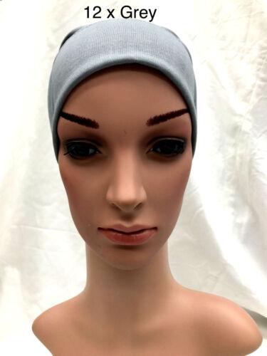 Ordine collettivo Le Donne Donna Sotto Sciarpa Hijab TUBO Cofano Berretto chemio banda alta Qulity