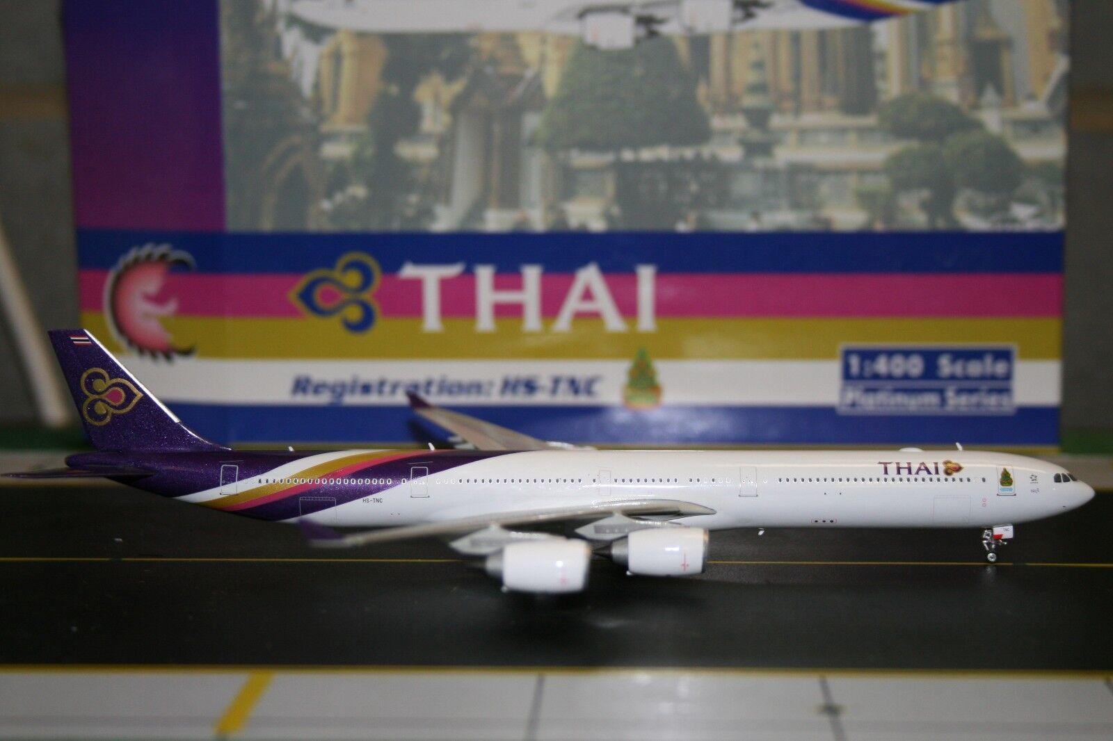 Phoenix 1 400 Thai Airways Airbus A340-600 HS-TNC (PH4THA929) Die-Cast Model
