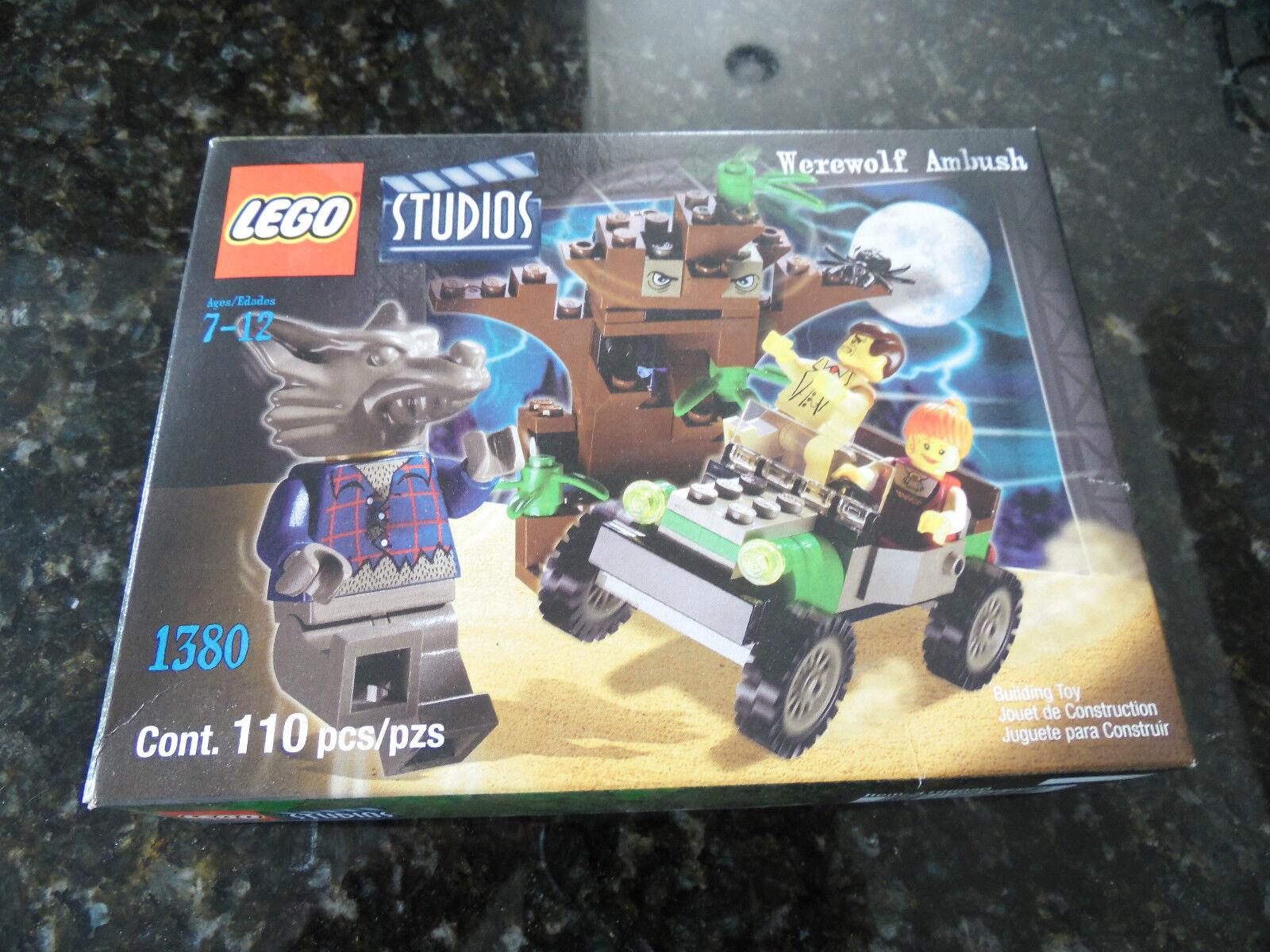 Lego Studios 1380 Werewolf Ambush Nuevo Sellado