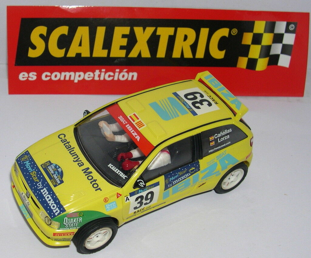 SCALEXTRIC SPAIN ALTAYA SEAT SPORT SEAT IBIZA N GAUGE BUILDING KIT CAR