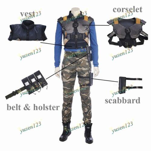 2018 Black Panther Erik Killmonger Cosplay Corselet Vest Holster Scabbard