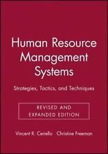 Human Resource Management Systems: Strategies, Tactics, and Techniques-ExLibrary