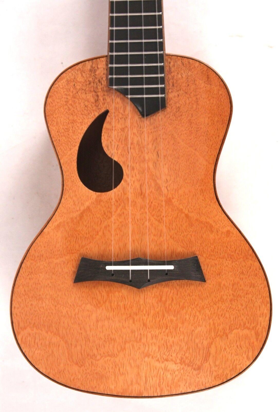 Amahi Snail Mango Acoustic Concert Ukulele Uke NEW w/ Padded Gig Bag