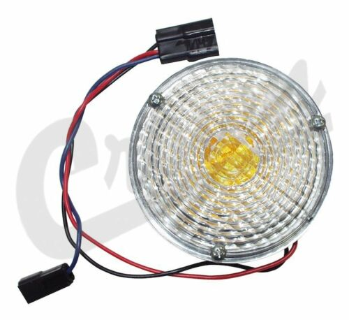Front Parking Light For Jeep 1969 To 1975 CJ5 CJ6 Left or Right Crown J0989852
