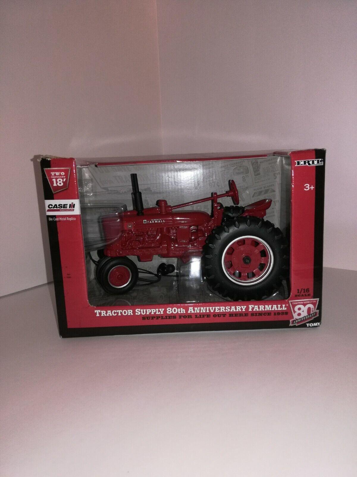 Tractor Supply 80th Anniversary Farmall Tractor