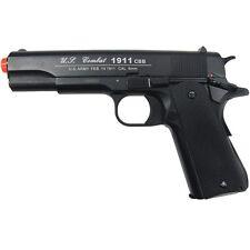400 FPS WG AIRSOFT METAL M 1911 CO2 GAS BLOWBACK HAND GUN PISTOL w/ 6mm BB BBs