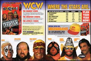 WCW-UNCENSORED-039-95-Orig-Trade-print-AD-promo-HULK-HOGAN-RANDY-SAVAGE-VADER