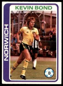 -#390 TOPPS-FOOTBALL PALE BLUE BACK 1979 NORWICH TEAM UNMARKED CHECKLIST