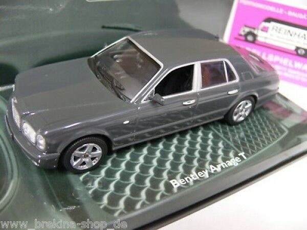 1 43 Minichamps Bentley Arnage T 2003 anthracite