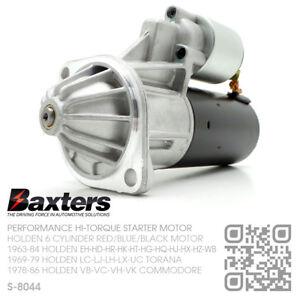 HI-TORQUE-STARTER-MOTOR-161-173-186-202-6-CYL-HOLDEN-HK-HT-HG-HQ-HJ-HX-HZ-WB