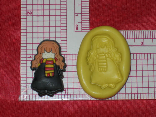Harry Potter Hermione Granger Silicone Mold Bookscrapping Resin Clay A494