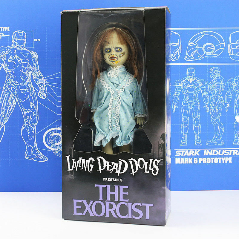The Exorcist Horror Movie 10  Living Dead Dolls Presents Collectible Figure Toy