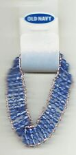 old navy   blue with great design  brand new with tag  strech Bracelet