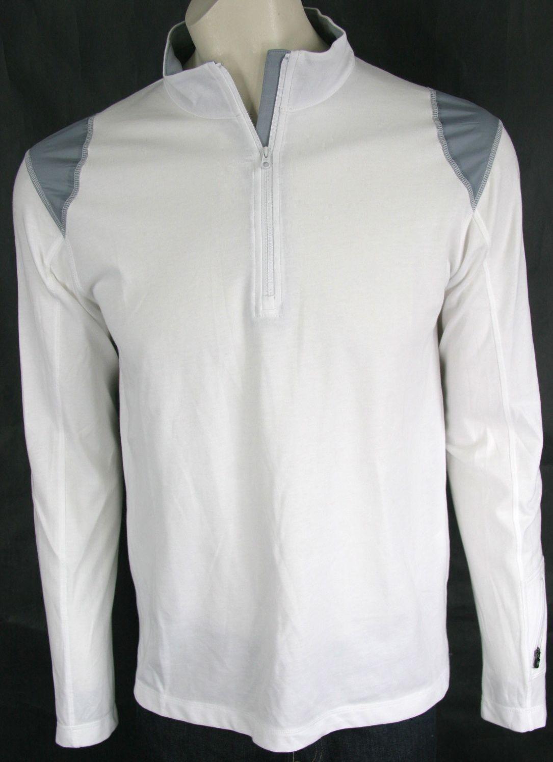 Victorinox Light Weight 1 4 Zip Top Classic White