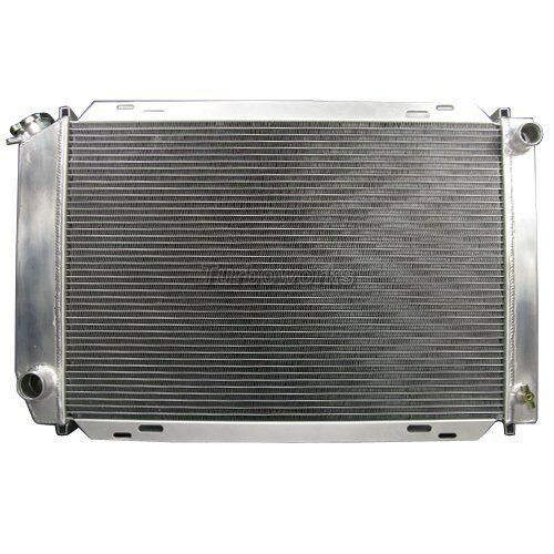 ALUMINUM RADIATOR For 79-93 Ford Mustang 3 ROWS Manual Transmission
