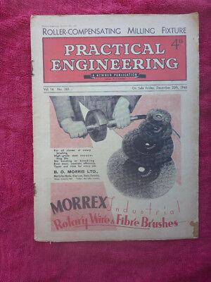 Vintage Practical Engineering Magazine December 1946 Milling Fixture