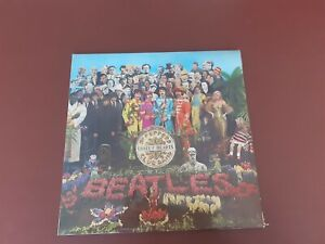 THE BEATLES-SGT.PEPPERS LONELY HEARTS CLUB BAND-UK PARLOPHONE MONO LP + CUT OUTS