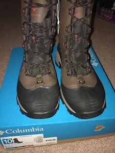 Columbia-Bugaboot-III-Size-10-Waterproof-Snow-Warm-Comfy-New-With-Box-Hiking