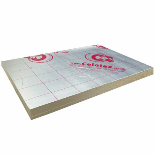 Celotex Recticel Kingspan QuinnTherm PIR 100mm Insulation Boards 2400 x 1200mm