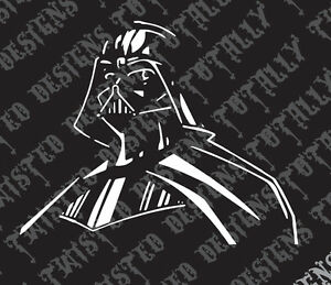 Star Wars Darth Vader car truck vinyl decal sticker cool jedi luke empire yoda
