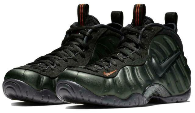 the best attitude 38e07 66ada Nike Air Foamposite Pro Sequoia Green Team Orange Size 11 624041-304
