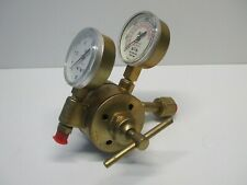 Airco 8401 Oxygen Pressure Regulator Two Stage T Bar