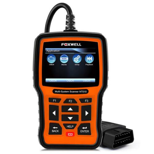 OBD2 Automatic ABS Airbag SAS DPF TPMS EPB Reset Engine Check Tool Foxwell NT510