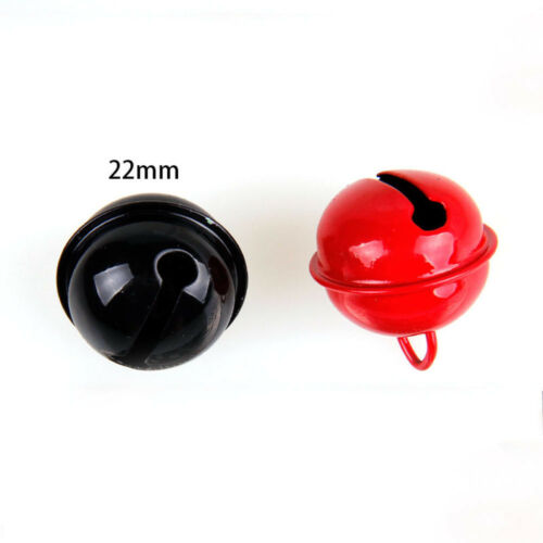 New Candy Colorful Paint Small Bells Alloy Jewelry DIY Christmas Toys Decor 22mm
