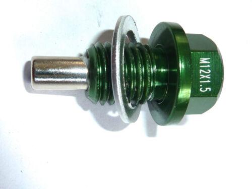 Kawasaki VN800 ZZR1400 ZX14R ZX6R 636 ZX10R MAGNETIC OIL DRAIN SUMP PLUG M12x1.5