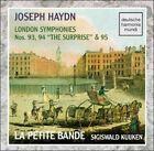 "Joseph Haydn: London Symphonies Nos. 93, 94 ""The Surprise"" & 95 (CD, Jul-1993, DHM Deutsche Harmonia Mundi)"