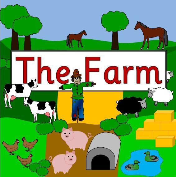THE FARM topic resource pack on CD- KS1/ EYFS- farming, animal, harvest