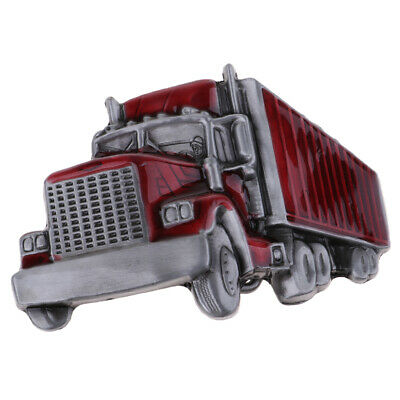 Retro Vintage Western Truck Zinc Alloy Cowboy Men/'s Belt Buckle Novelty Gift