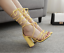 Women-Block-High-Heel-Lace-Up-Strappy-Sandals-Gladiator-Peep-Toe-Sexy-Shoes-Size thumbnail 6