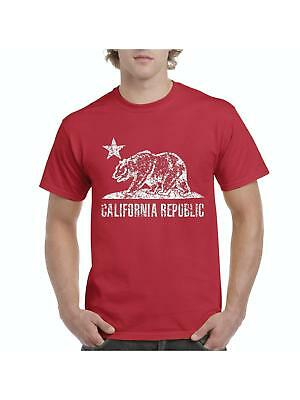 CALIFORNIA REPUBLIC BEAR Kids T-Shirt Cali Life VINTAGE Birthday Gift Idea Youth