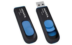 Adata-UV128-64GB-USB-3-0-Flash-Stick-Pen-Memory-Drive-Black