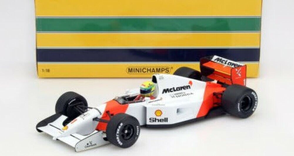MINICHAMPS FORMULE 1 F1 1 18 McLaren Honda Pistolets mitrailleurs 4 5 1989 Ayrton Senna collection