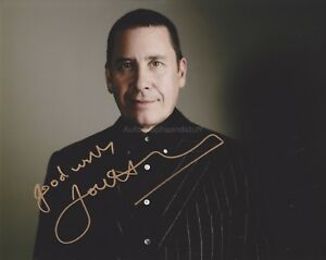 Jools-Holland-HAND-SIGNED-8x10-Photo-Autograph-Squeeze-Piano-B