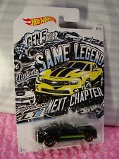 50th Anniversary chevy camaro set 10 coches de modelo Chevrolet 1:64 Hot Wheels fkv70