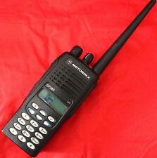 255 Channel Motorola GP380 VHF 136-174 Mhz 5W 2Way Radio + Accessories