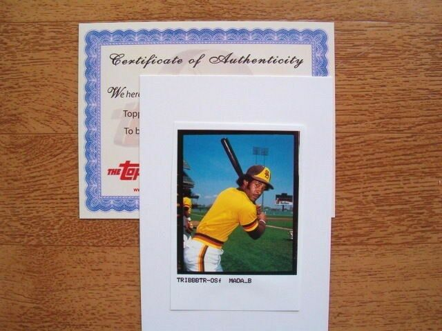 2003 Topps Tribute Match Print Photo Ozzie Smith #26 San Diego Padres with COA