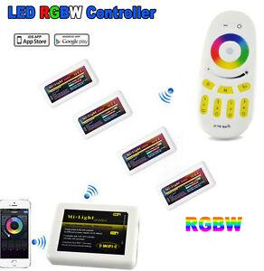 2-4G-DC12V-24V-Wireless-MiLight-LED-RGBW-Strip-Light-Controller-WiFi-RF-Remote
