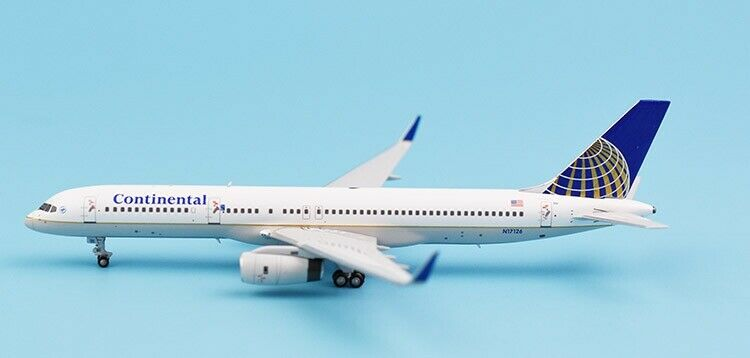 1 400 NG Model Continental BOEING 757-200 Passenger Airplane Diecast Plane Model