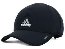 7ba7916d33e2c Adidas Men s Adizero II Cap   Hat Adjustable Strapback Black or White  Running