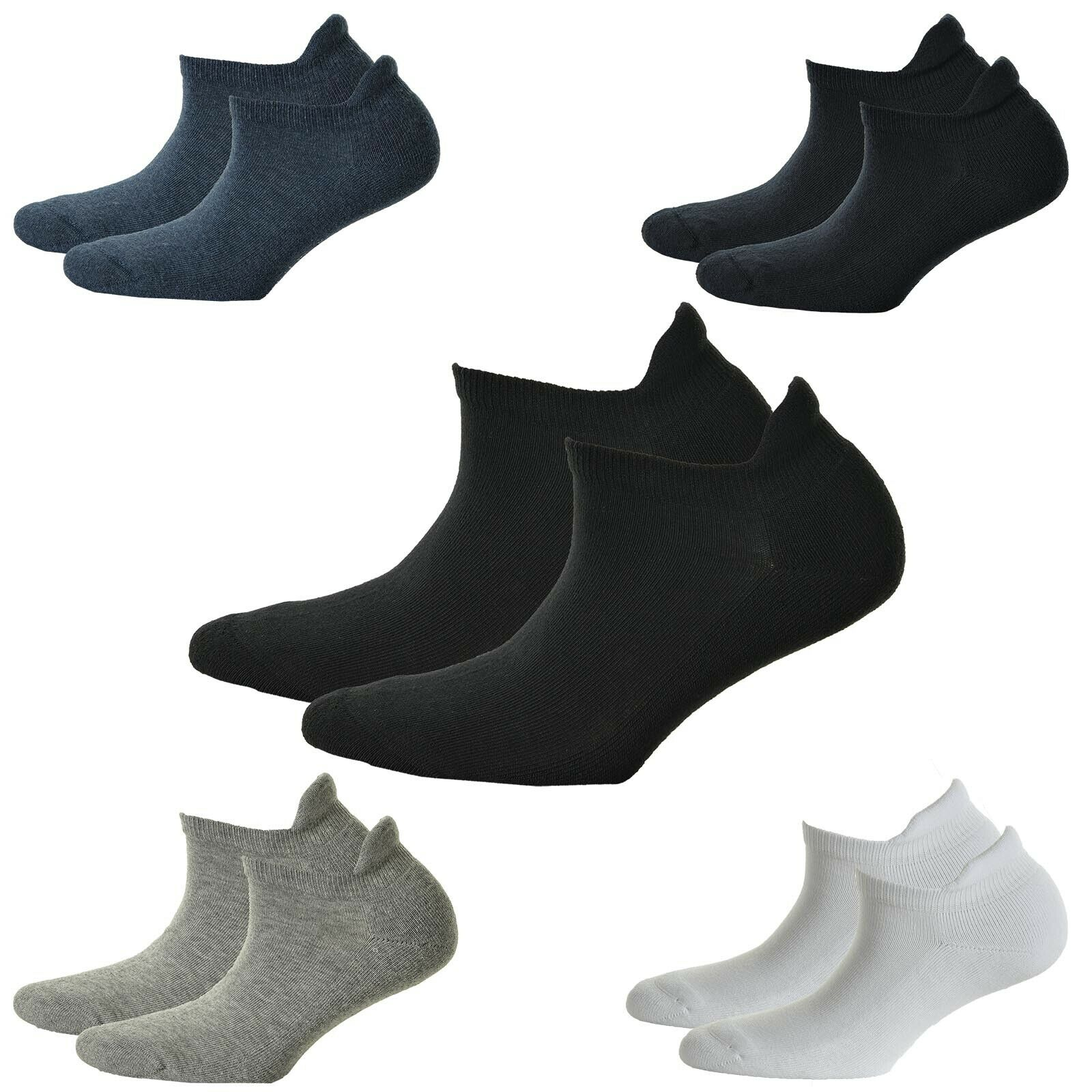 Hudson 2 Paar Damen Sneaker Socken Only Plush 2-Pack Plüschsohle Einfarbig