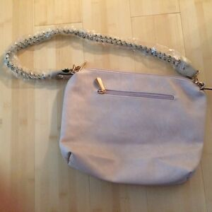 Image Is Loading New With Tags Isabelle Handbags Vegan Purse Eggshell