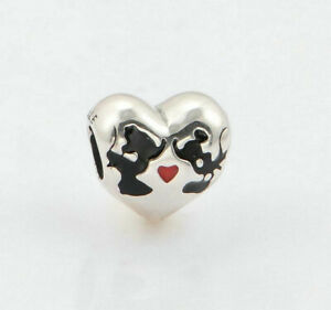 4a1a3bd21 Image is loading New-Authentic-Pandora-DISNEY-Minnie-amp-Mickey-Kiss-